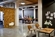 Industrial & contemporary office space / by April Bunch