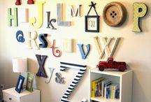 Kid's Room Ideas / by Melissa Baker