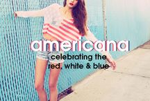 Americana, MLL-style.  / by MoreLoveLetters