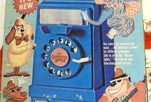 Jouets vintage / Les jouets de mon enfance et ceux que j'aurai aimer avoir / by Christian Proulx