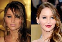 "Pales in Comparison / The ""tan"" trend seems to be less and less fashionable. Check out these major celebrities sporting both tan and pale skin. Do you agree that the pale version looks better?  / by About Face Skin Care { Philadelphia }"
