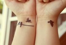 tattoos / by Ashleigh Christelis