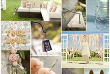 Garden party ideas  / Love the simple color palette  / by Ashleigh Strother