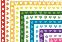 Clipart and Borders / Check out these cute borders and clipart from our favorite TPT sellers!  / by KinderLit