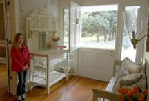 Home interiors. / Retro, vintage and contemporary cottage style. Edited and uncluttered. Fanciful mixed with simple.  / by Patty Clark
