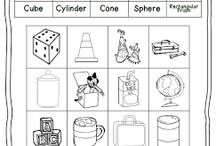 Shapes- first grade math / by Lacy Wright