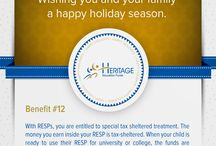 Holiday Infographic / by Heritage Education Funds