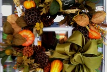 Fall decor / by Ashley Hopkins