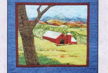 Quilts - Landscapes / by Lynda Dodd