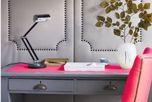 The Inspired Office / Products, tips, inspiration, beautiful offices, etc.  I'm an office organizing expert by the way: www.theinspiredoffice.com / by Kacy Paide
