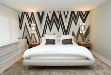 Painted Feature Walls / by Online Interior Design
