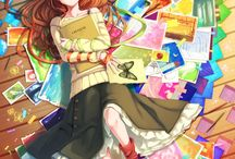 Anime Girls / by Avalon Scarlett