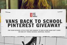 Vans Back To School / by Barbara Ryan