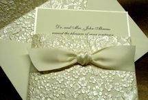 wedding invitations / by April Baird