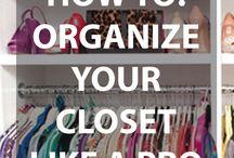 Closet Decor/Ideas / by Tiffany Rozier