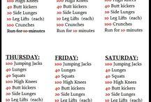 Workin on my fitness  / by Michelle Dier