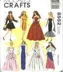 Barbie Sewing Pattern Collection / Yes, I have a few, but I still don't have them all!!! / by Janet Hatfield