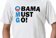 Anti Obama T-Shirts / The following Anti-Obama tees and shirts are some of the most popular I have found. Please note that I do not condone racism or hate that may or may not be featured in some of the designs! / by Republican 2012