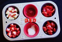 Food ... Family / Muffin tin meals, toddler meals  / by Renae Ba
