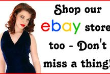 Shop Our eBay Store, too! Thousands of items to Choose From.... / On our eBay store, we have many other items not found on The Best Vintage Clothing, shop now for best selection. #eBay.com #Vintage #catspajamasvintage / by The Cats Pajamas