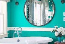 Bathroom ideas / by Carrie Patrick