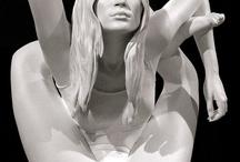 #Art  / - Kate Moss by Marc Quinn - Jobart Barjot  / by Samia Boukhlifa