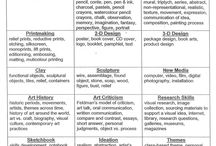 Art Curriculum Ideas/ Sheets / by Jen Young