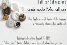 Handmade Marathon / by Alison Butler (The Petit Cadeau Blog)
