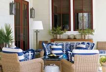 Patio Spaces / by Brittany Kutter