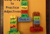 Adjectives (Grammar) / by Allyssa Sharpe