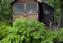 cabins/cottages / by Cathy Bizri