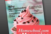 Homeschool.com Magazine - Launch Issue / Homeschool.com Magazine - Launch Issue  http://www.homeschool.com/Magazine/Volume01/Issue01/ / by Homeschool.com