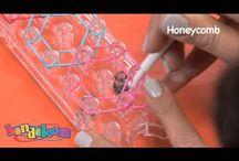 DIY Bandaloom  & Rainbow loom Stuff / www.bandaloom.com  www.rainbowloom.com / by Lyndsay Olson