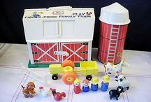 Old Toys my kids or I had. / by Susan Day
