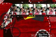 Disney Scrapbook Layouts / by Accessorize With Tiffany
