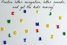 Alphabet - Letters, Sounds, and so much more! / by Jessica Ann Stanford