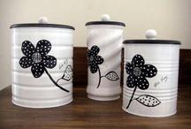 Latas / Reciclando las latas de leche / by Eleana Duran