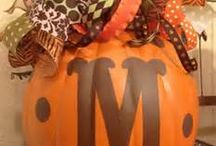 Fall colors/decorating ideas / fall foliage colors / by Sandi Miller