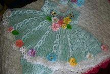 Crochet...baby dress / by Kitty Durbin