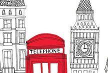 London album / by Caro_frenchy