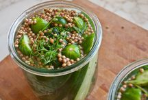 Refrigerator Dill Pickles / by Regina Berry