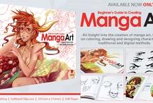 Beginner's Guide to Creating Manga Art / A closer look inside our Beginner's Guide to Creating Manga Art book http://shop.3dtotal.com/books/3dtotalpublishing/beginners-guide-manga.html / by 3DTotal