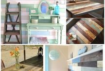 Pallet projects with my dad / by Jessica Harmon