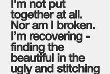 Anorexia Recovery Quotes / Quotes to motivate those of us who are in recovery from anorexia...www.understandinganorexia.com / by Katherine Henning
