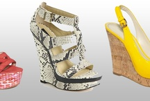 The Wedge Sandal / Wedge into comfort and versatility with this season's hottest shoe profile! / by FashionAde