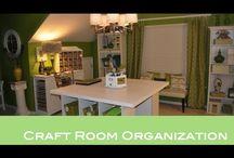 Craft Room Ideas / by Nikki Boyd