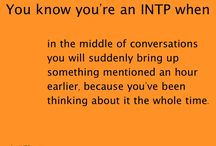 INTP Personality / INTP Personality / by Roxy3giraffe