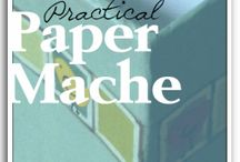 papier  mache / עיסת נייר / by אופירה מור מחלב