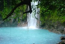 Costa Rica (Republic of Costa Rica) / Costa Rica is a country in Central America. In the north it borders Nicaragua and in the southeast Panama. To the west, there is the Pacific Ocean and to the east, the Caribbean Sea. / by Jeannine Mantooth