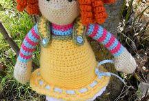 Dolls - crochet / by Leanne Hill